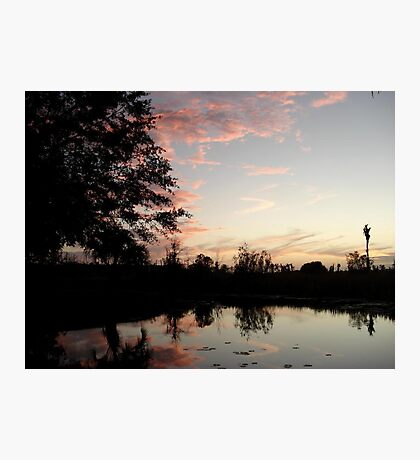 SUNSET, NOVEMBER 9, 2011 Photographic Print