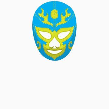 taco face Lucha libre by 42x16cc