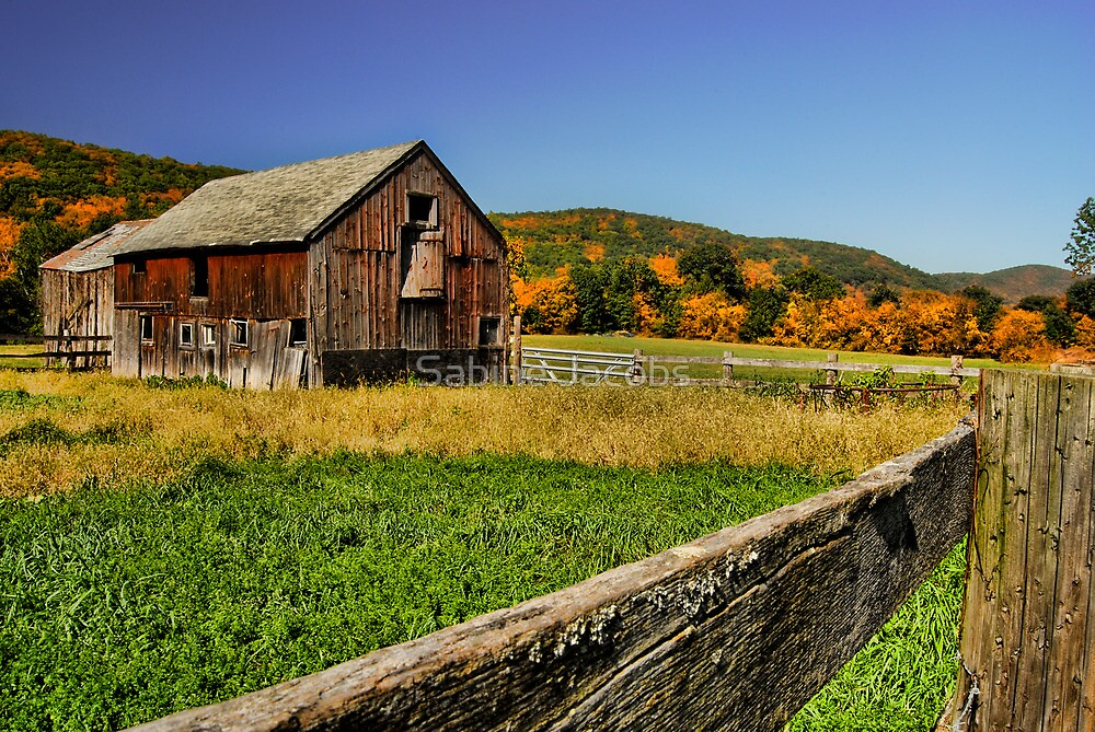 Old Barn ~ Connecticut, USA by Sabine Jacobs