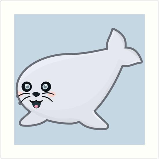 Kawaii Seal by NirPerel
