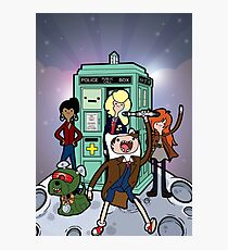 Adventure Time Lord Planetfall Photographic Print