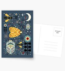 Midnight Bugs Postcards