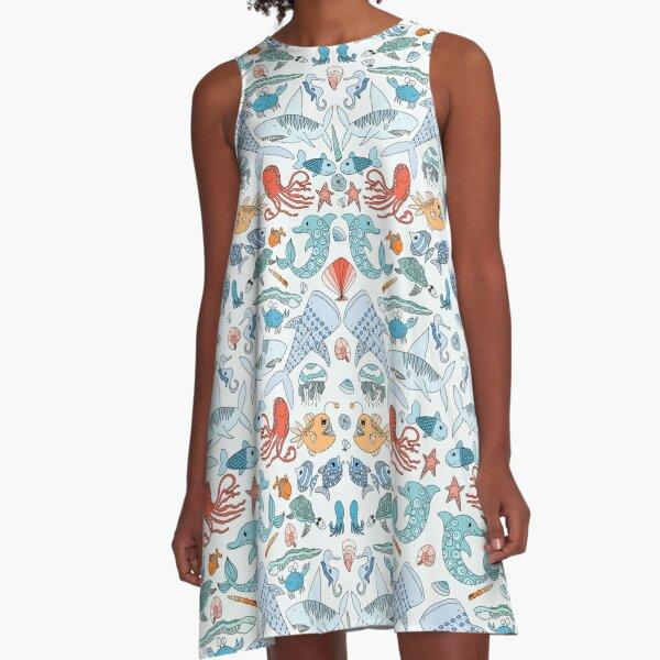 Something's Fishy A-Line Dress