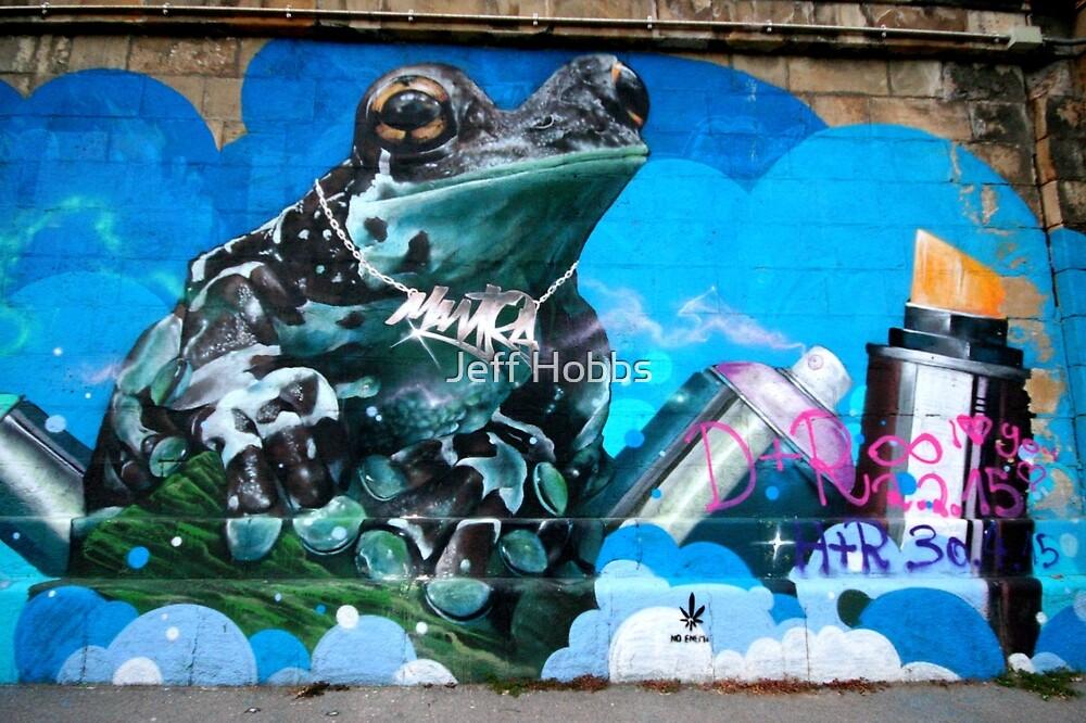 Frog Graffiti, Vienna, Austria by Jeff Hobbs