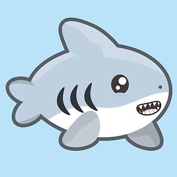 Kawaii Shark by NirPerel