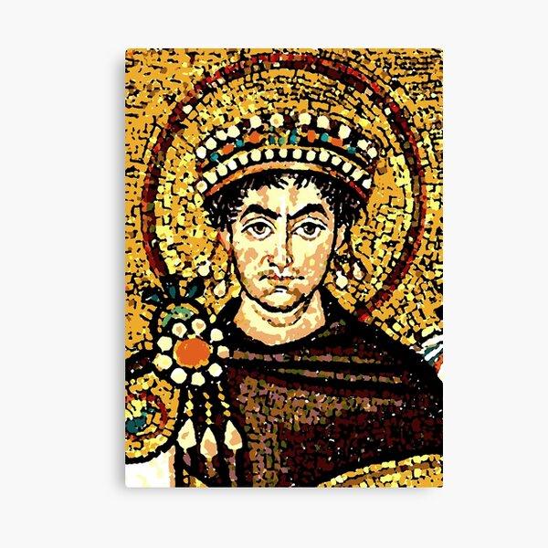 Justinian I Canvas Print