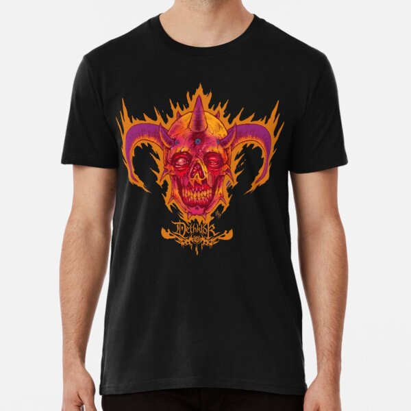 """Metalocalypse """"Facebones"""" Premium T-Shirt"""