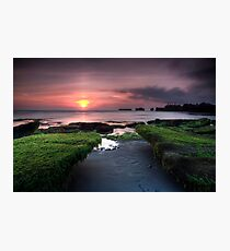 Bali Dreaming - Sunset Photographic Print