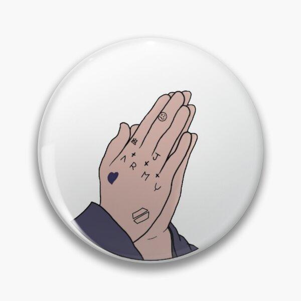 Jungkook Hand Tattoo Pin