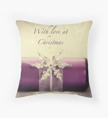 Nostalgic Christmas Throw Pillow