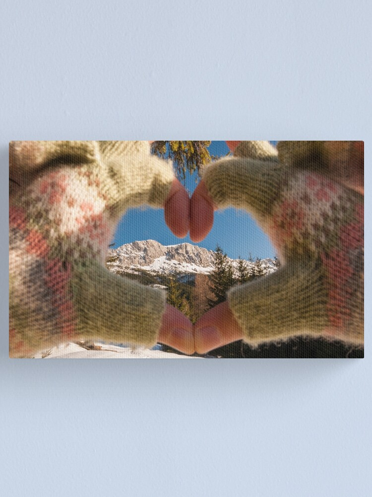 Alternate view of ♥ Mountains Canvas Print