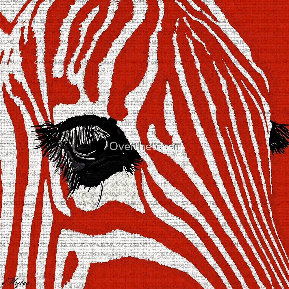 Zebra Red  by Saundra Myles
