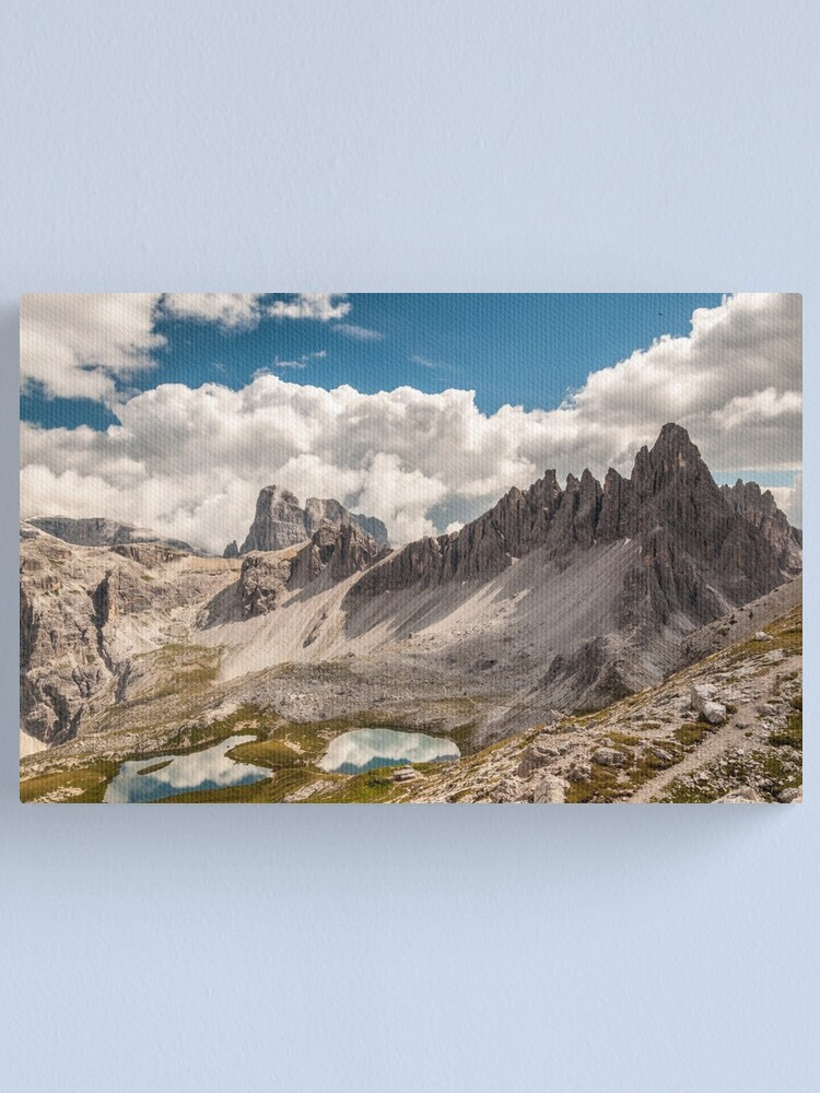 Alternate view of Monte Paterno Canvas Print