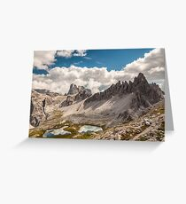 Monte Paterno Greeting Card