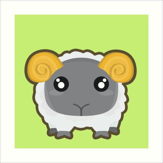 Kawaii Sheep by NirPerel