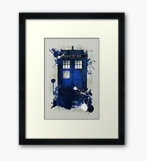 Doctor Who: Tardis Giclee Art Print Framed Print