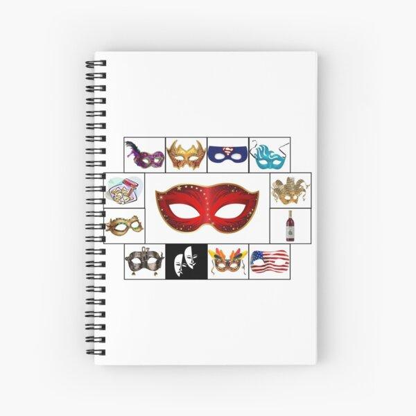 Purim 2020 Spiral Notebook