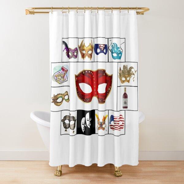 Purim 2020 Shower Curtain
