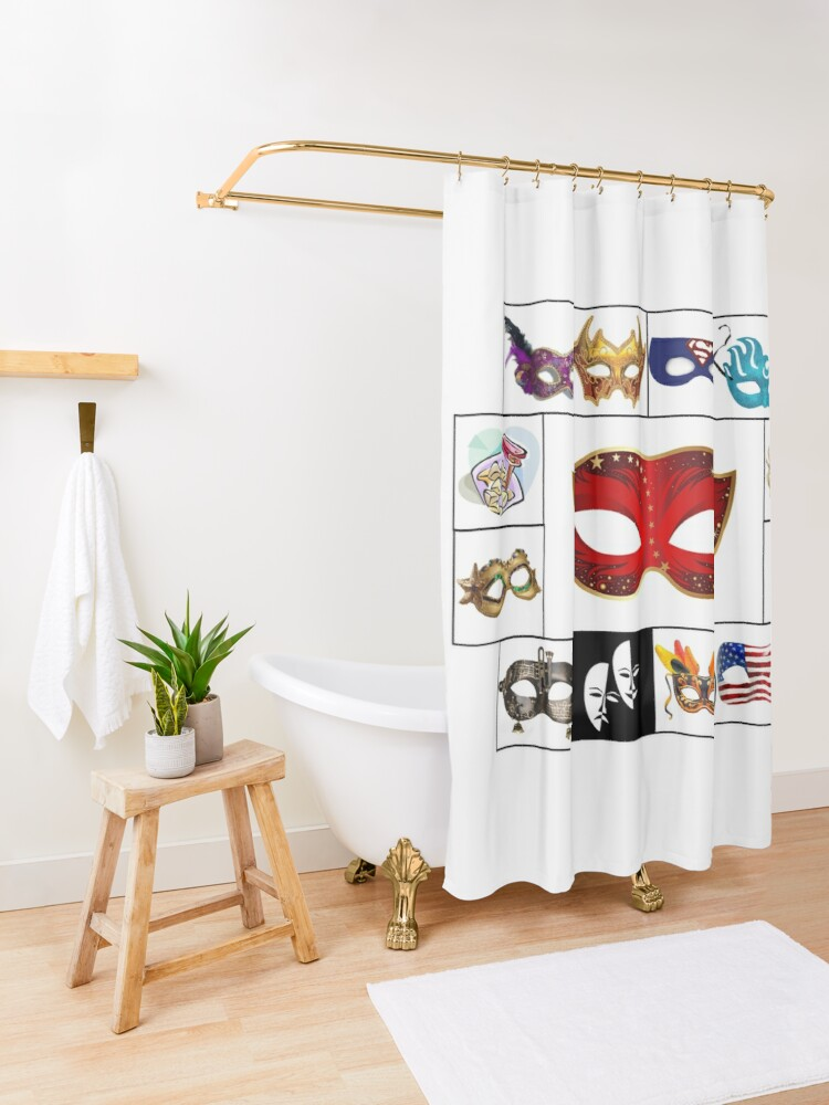 Alternate view of Purim 2020 Shower Curtain