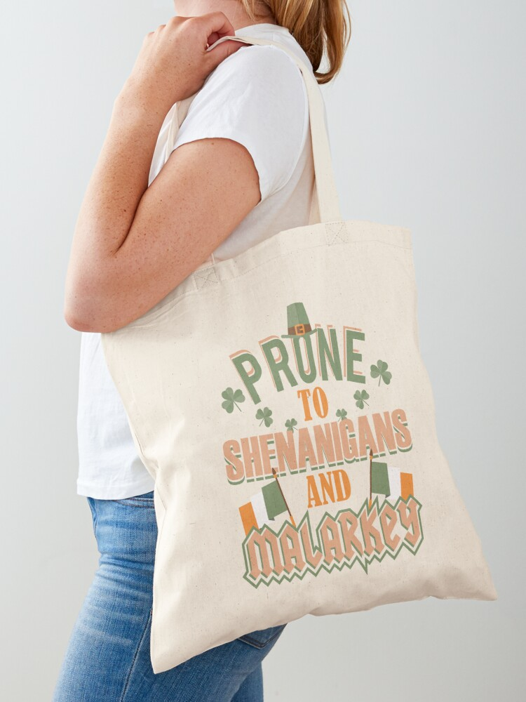 St Patricks Day Love Shamrock ShirtCotton Canvas Tote Bag Day Trip Bag Carry All