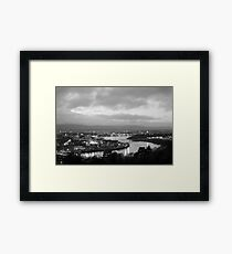 Derry by night Framed Print