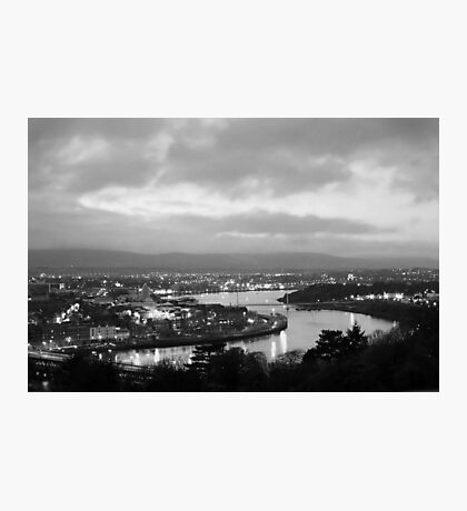 Derry by night Photographic Print