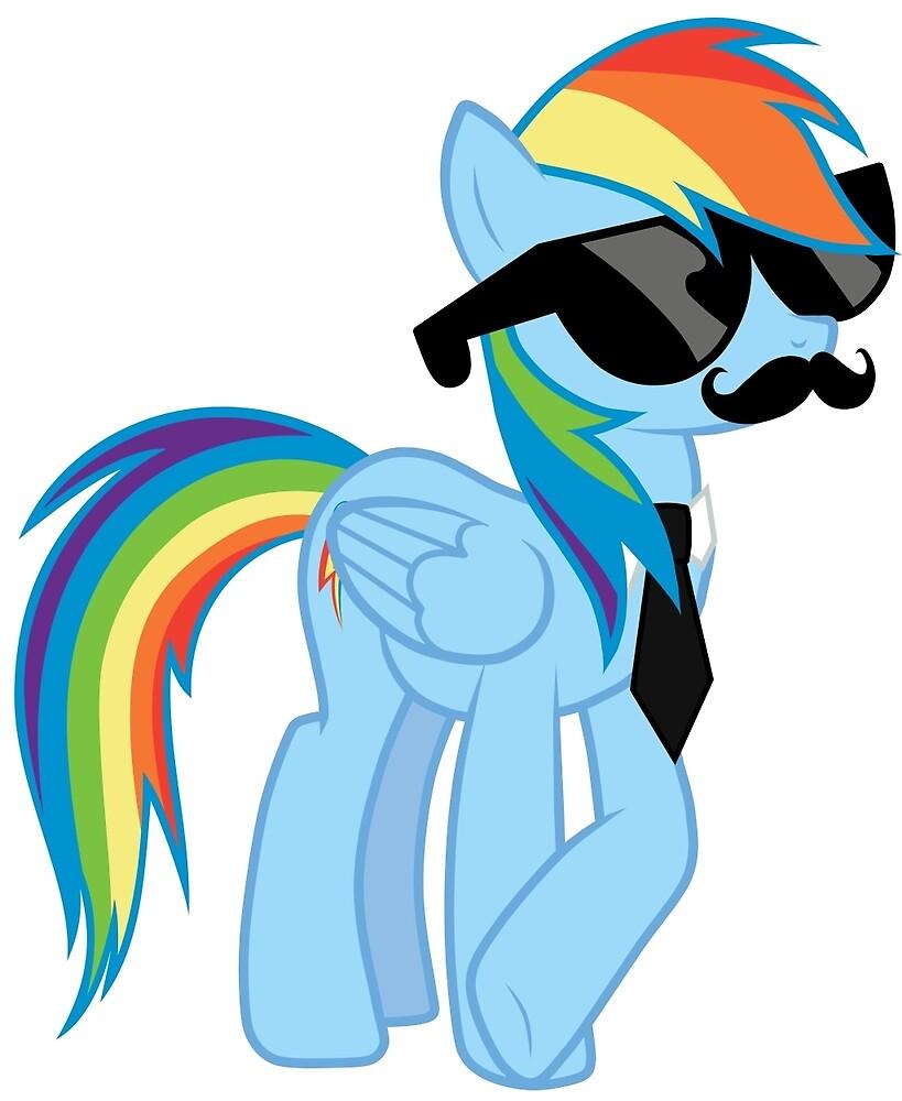 Like a Sir Rainbow Dash by youtubebrony98