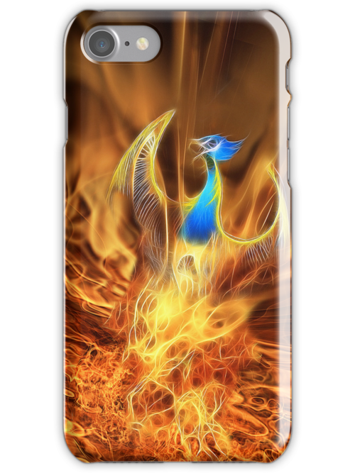 Phoenix iPhone Case by John Edwards
