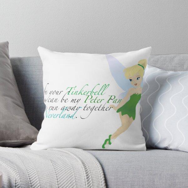 Tinkerbell. Throw Pillow
