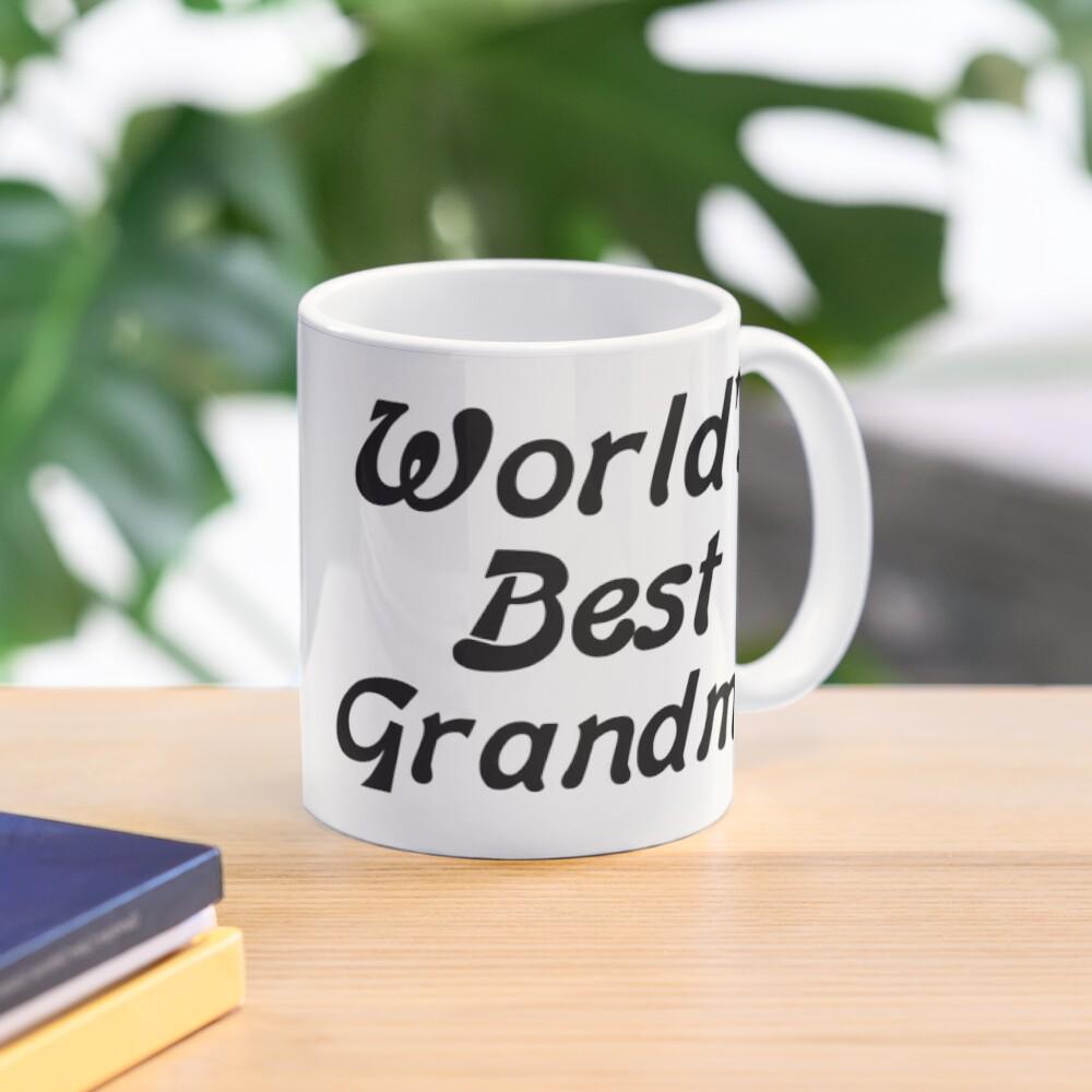 Worlds Best Granny To Be Novelty Glossy Mug Coaster Pink