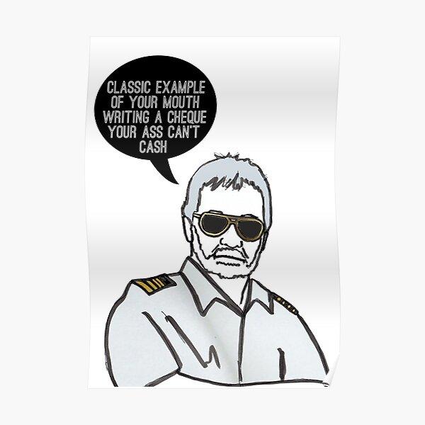 Classic Captain Poster