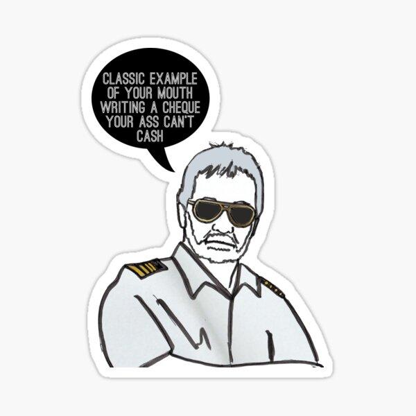Classic Captain Sticker