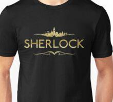 Golden Sherlock Unisex T-Shirt