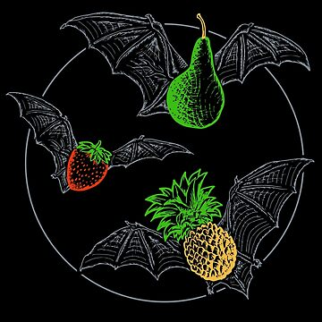 Fruit Bats by Tabner