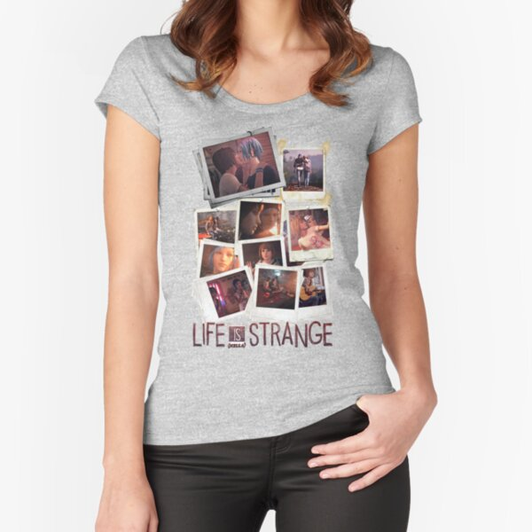 Pictures and Polaroids Fitted Scoop T-Shirt