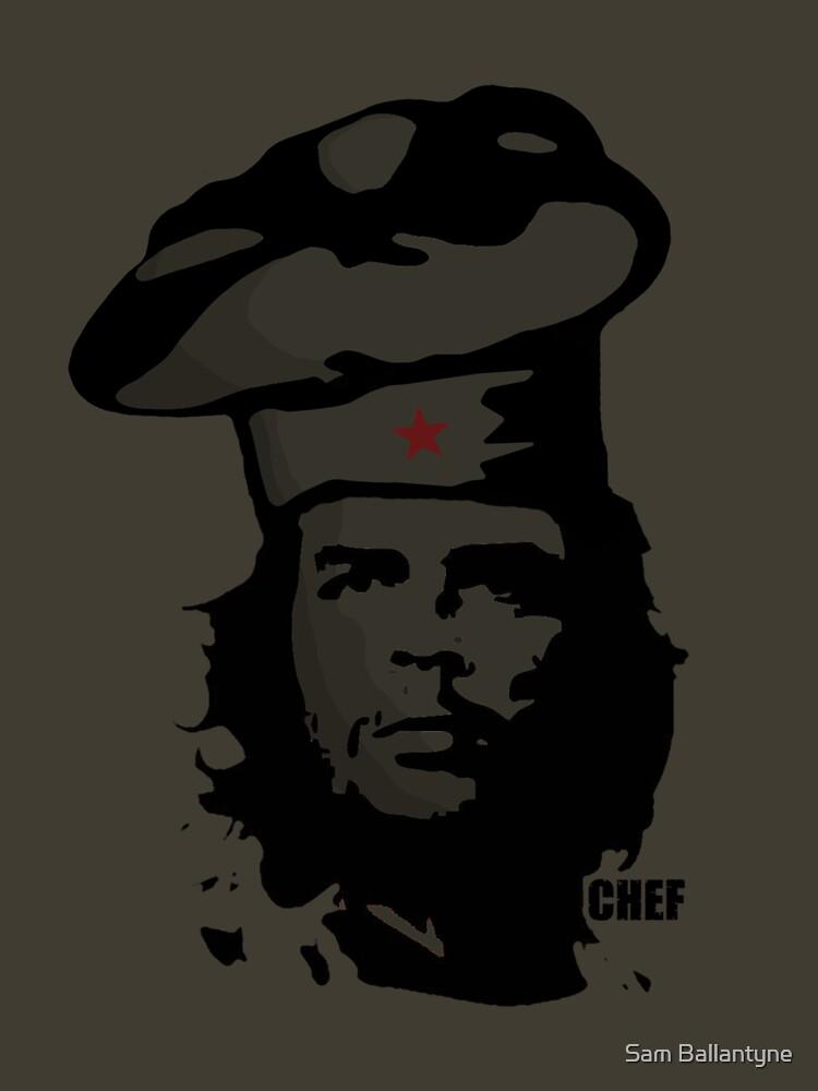 Chef Guevara by samuelballantyne