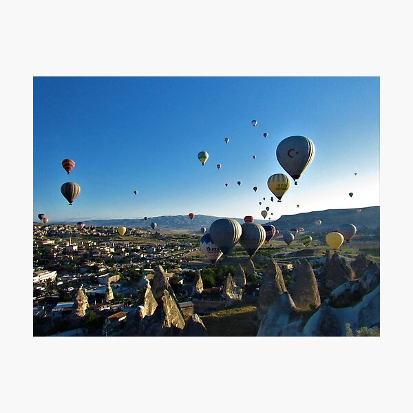Balloons in Goreme Photographic Print