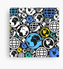 World a background Canvas Print
