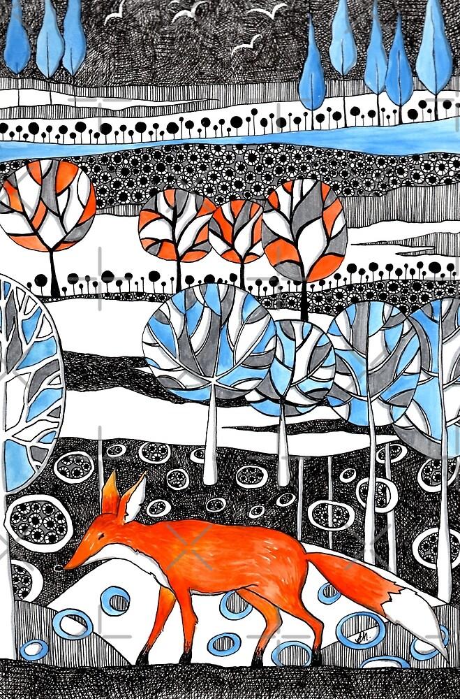 Mr Mischief the fox by Judit Matthews
