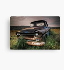 Chevy truck Canvas Print