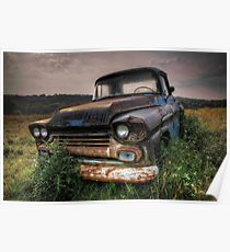 Chevy truck Poster