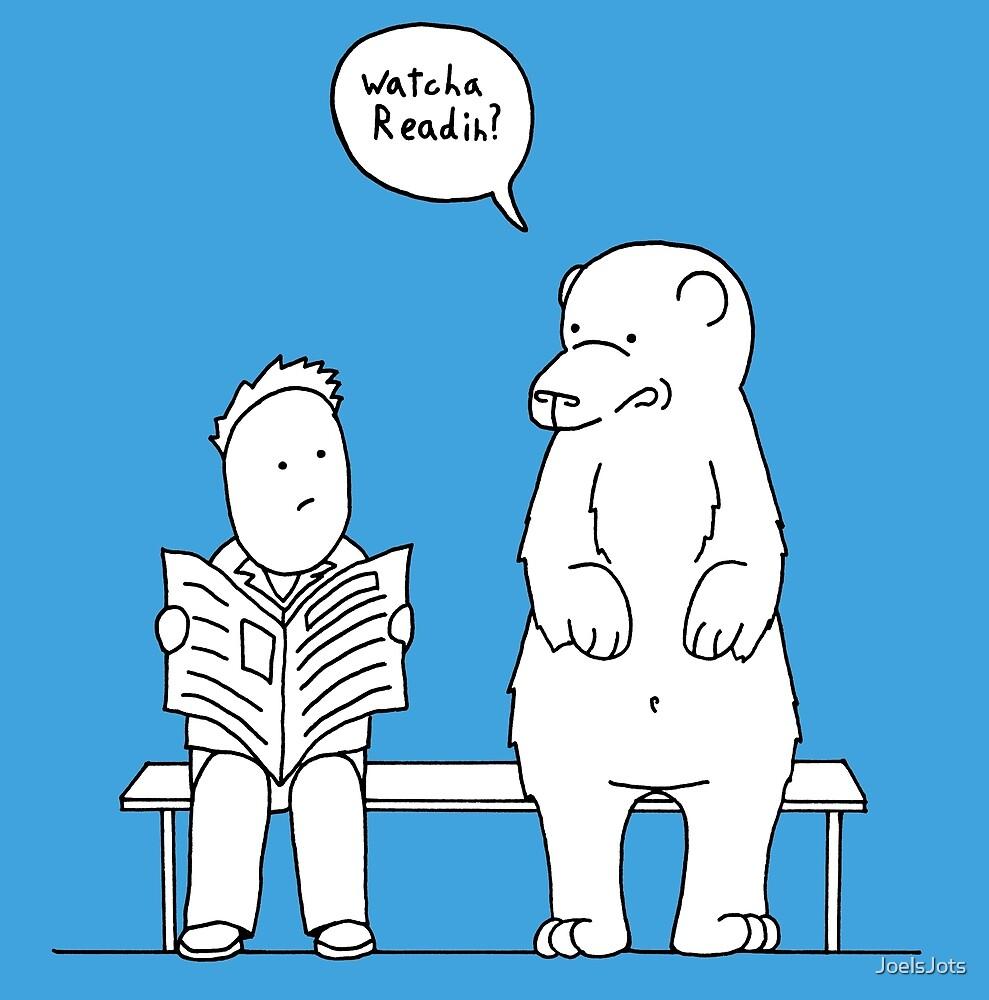 Privacy Bear by JoelsJots