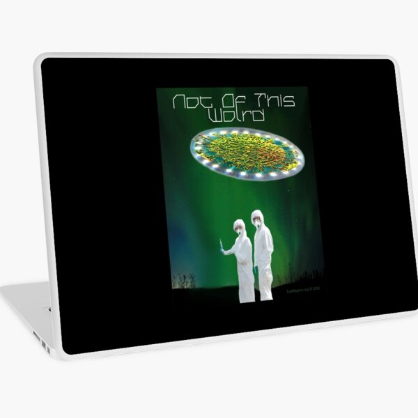 Not of This World Laptop Skin