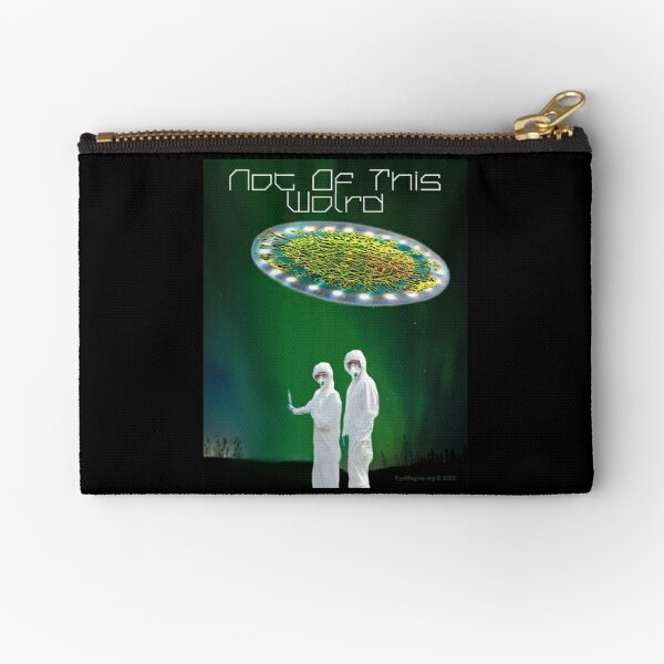 Not of This World Zipper Pouch