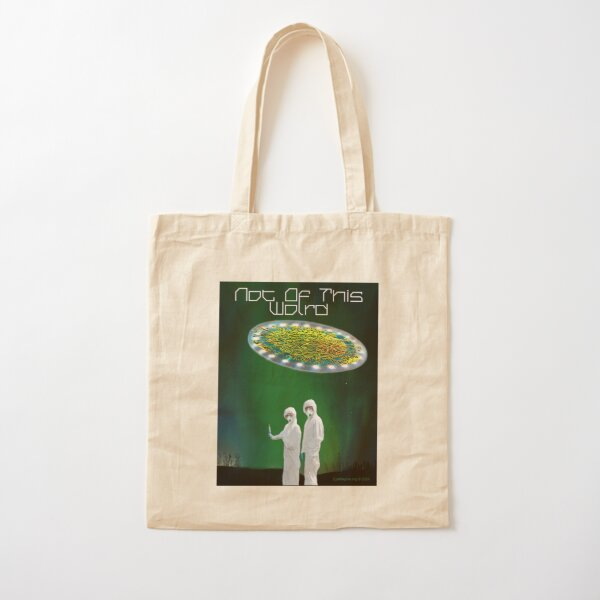 Not of This World Cotton Tote Bag