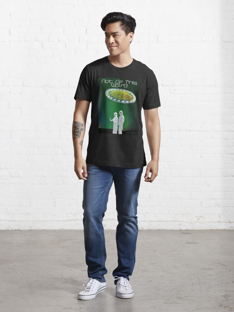 Alternate view of Not of This World Essential T-Shirt