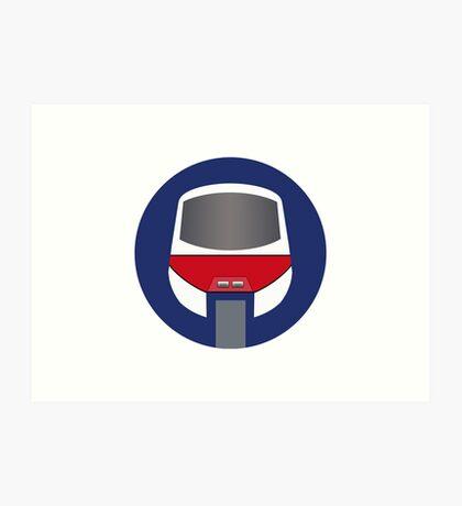 Monorail Logo Art Print