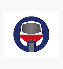 Monorail Logo Photographic Print