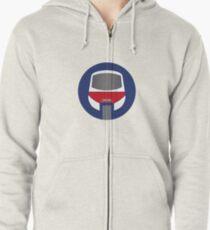 Monorail Logo Zipped Hoodie