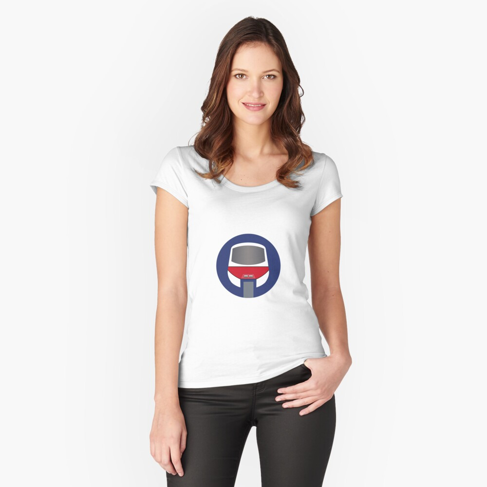 Monorail Logo Women's Fitted Scoop T-Shirt Front
